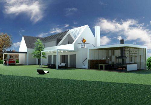 Rekonštrukcia A Prístavba Rodinného Domu, Dobrohošť