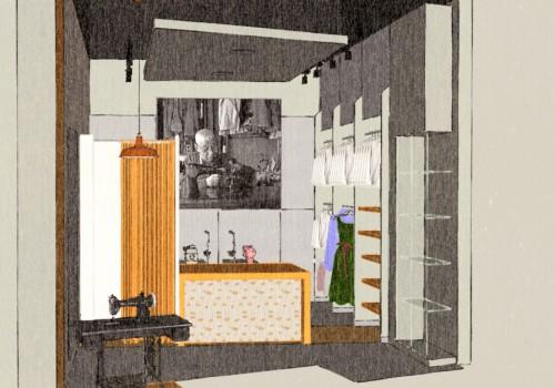 Návrh Interiéru Krajčírstva 4Kiss